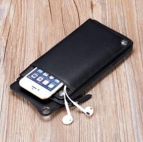 FALANMULE Dompet Pria Luxury Bahan Kulit - FLML1326 - Black