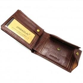 Deri Cuzdan Dompet Kulit Pria - Brown - 4