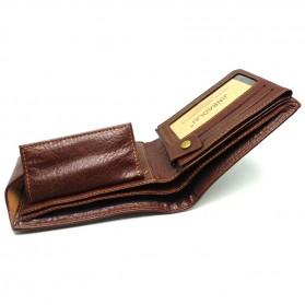 Deri Cuzdan Dompet Kulit Pria - Brown - 6
