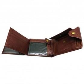 Deri Cuzdan Dompet Kulit Pria - Brown - 7