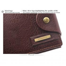 Deri Cuzdan Dompet Kulit Pria - Brown - 9