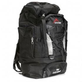Tas Gunung Carrier Travel Outdoor Adventure Waterproof 80L - GC30 - Black