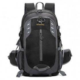 XUAN & YUFAN Tas Gunung Travel Outdoor Adventure Waterproof 40L - GC31 - Black