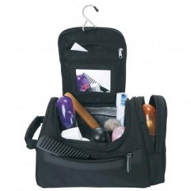 Travelmate Tas Organizer Kosmetik Peralatan Mandi Carry On - 9090 - Black - 2
