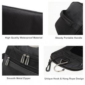 Travelmate Tas Organizer Kosmetik Peralatan Mandi Carry On - 9090 - Black - 3