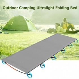 Hitorhike Tempat Tidur Kasur Lipat Kemah Camping Bed - NH17X008-C - Gray