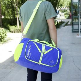 CLEVER BEES Tas Travel Lipat Portabel Duffel Bag Waterproof - L57 - Black - 9