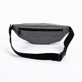 QIUYIN Tas Pinggang Fanny Pack Waistbag - 5607 - Black - 2