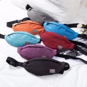 QIUYIN Tas Pinggang Fanny Pack Waistbag - 5607 - Black - 5