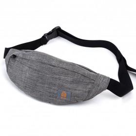 QIUYIN Tas Pinggang Fanny Pack Waistbag - 5607 - Gray