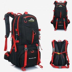 HWJIANFENG Tas Gunung Ransel Backpack 50L - 1524 - Black/Red - 2