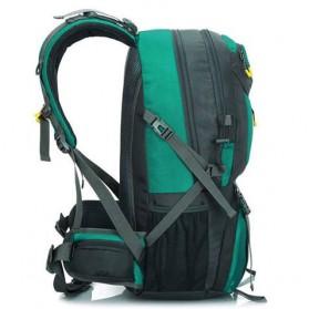 HWJIANFENG Tas Gunung Ransel Backpack 50L - 1524 - Black/Red - 5