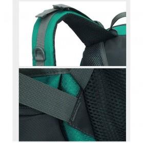 HWJIANFENG Tas Gunung Ransel Backpack 50L - 1524 - Black/Red - 6