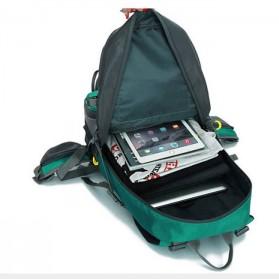 HWJIANFENG Tas Gunung Ransel Backpack 50L - 1524 - Black/Red - 8