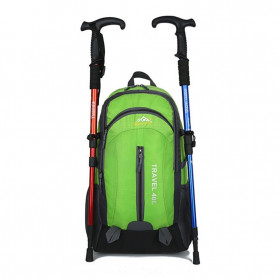 HUWAIJIANFENG Tas Gunung Travel Outdoor Adventure Waterproof 40L with USB Charger Port - ST31 - Black - 4
