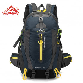 HUWAIJIANFENG Tas Gunung Outdoor Adventure Water Resistant 40L - ST32 - Dark Blue