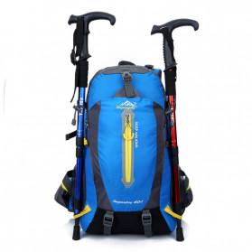 HUWAIJIANFENG Tas Gunung Outdoor Adventure Water Resistant 40L - ST32 - Dark Blue - 4