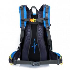 HUWAIJIANFENG Tas Gunung Outdoor Adventure Water Resistant 40L - ST32 - Dark Blue - 5