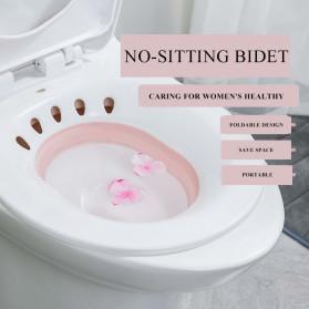 CYAN PEAK Alas Toilet Duduk Ibu Hamil Bidet Sauna - SN300 - Pink