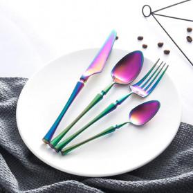 Lingeafey Cutlery Set Perlengkapan Makan Sendok Garpu Pisau - C5