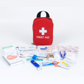 P3K - FervorFox Tas P3K First Aid Kit 23 in 1 - GLT-Y023 - Red