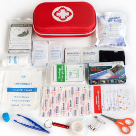 FervorFox Tas P3K First Aid Kit 18 in 1 - B33158 - Red