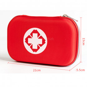 FervorFox Tas P3K First Aid Kit 18 in 1 - B33158 - Red - 3