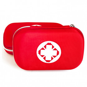 FervorFox Tas P3K First Aid Kit 18 in 1 - B33158 - Red - 4