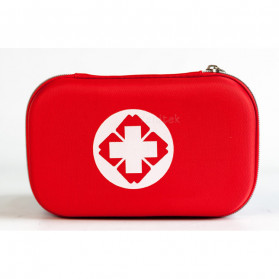 FervorFox Tas P3K First Aid Kit 18 in 1 - B33158 - Red - 6