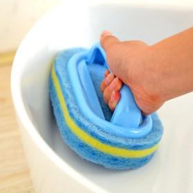 Strongwell Sikat Pembersih Kamar Mandi WC Dapur Sponge Cleaning Brush - SW024 - Blue