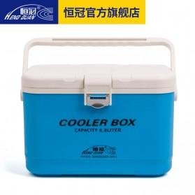 HENG GUAN Kotak Es Pendingin Camping Cooler Box 8.8 Liter - HG-019 - Blue