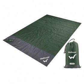 Wellhouse Matras Tikar Camping Portabel Waterproof Picnic Mat 2 x 1.4M - WH-00454 - Green