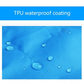 Wellhouse Matras Tikar Camping Portabel Waterproof Picnic Mat 2 x 1.4M - WH-00454 - Green - 4