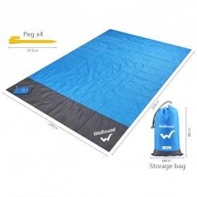 Wellhouse Matras Tikar Camping Portabel Waterproof Picnic Mat 2 x 1.4M - WH-00454 - Green - 6