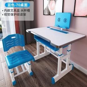 MINIMODERNA Meja Kursi Belajar Anak 46x70cm - WBP28 - Blue