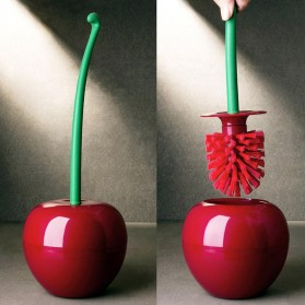 ONEUP Sikat Toilet WC Brush Lovely Cherry Shape - KT-907 - Red