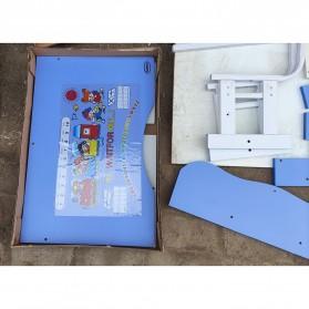 MINIMODERNA Meja Kursi Belajar Anak 69cm - WBP30 - Blue - 4