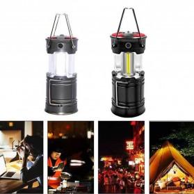 RDE Lampu Lentera Camping Lantern Water Resistant - KJ-1290-2 - Black