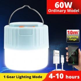 Yifanao Senter Lampu Lentera Camping Lantern Rechargeable 60W - G11 - White