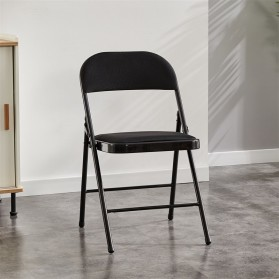 Yyin Kursi Lipat Portable Folding Chair - YY21 - Black