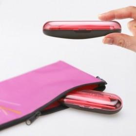 Hoomall Sendok Garpu Lipat Detachable Portable Travel Set - 22052 - Blue - 3