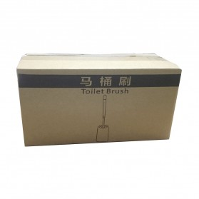 ONEUP Sikat Toilet WC Plastic Brush Wall Mounted - KT-906C - White - 10