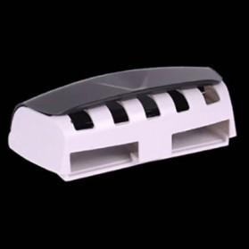 BAISPO Set Gantungan Rak Sikat Gigi + Dispenser Odol - HLA0146 - Black - 4