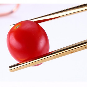 Tofok Cutlery Set Perlengkapan Makan Sendok Garpu Rainbow Cloth Bag 9PCS - T14 - Multi-Color - 8