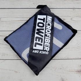 BUBM Handuk Microfiber Quick Dry Towel - BTL-02 - Black