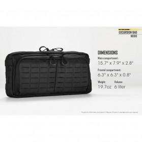 Nitecore Tas Travel Outdoor Waterproof 6 Liter - NEB10 - Black - 11