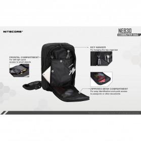NITECORE Tas Travel Commuter Sling Shoulder Bag - NEB30 - Black - 5