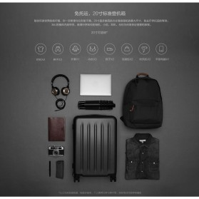 Xiaomi 90 Points Suitcase Koper Travel 24 inches - Gray - 4