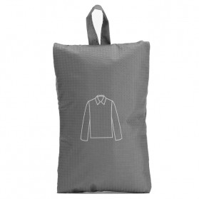 Xiaomi 90 Points Tas Travel Bag in Bag Organizer Pakaian - Dark Gray - 3