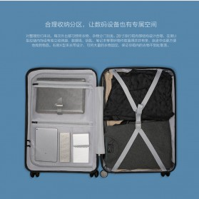 Xiaomi 90 Points Suitcase Koper Travel 28 inches - Gray - 7